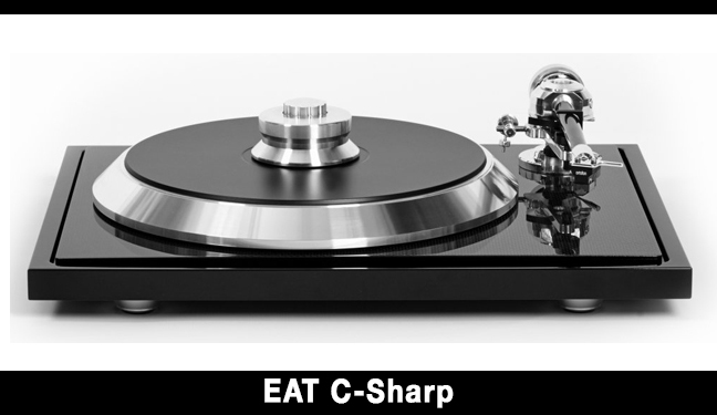 EAT C-Sharp turntable